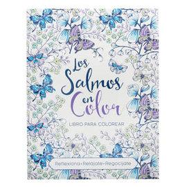 Coloring Book - Libro para colorear Salmos en Color, Spanish