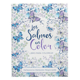 Coloring Book - Libro para colorear Salmos en Color, Spanish