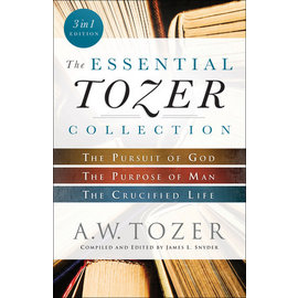 The Essential Tozer Collection (3-in-1), Paperback
