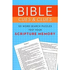 Bible Cues and Clues: 101 Word Search Puzzles to Test Your Scripture Memory