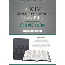 KJV Study Bible: Students' Edition, Charcoal DiCarta, Indexed