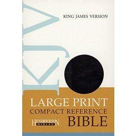 KJV Large Print Compact Reference Bible, Black w/Magnetic Flap Flexisoft