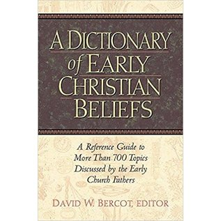 A Dictionary of Early Christian Beliefs, Hardcover
