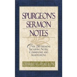 Spurgeon's Sermon Notes, Hardcover