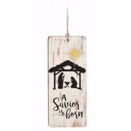 Ornament - A Savior is Born