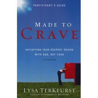 Made to Crave, Participant's Guide (Lysa TerKeurst), Paperback