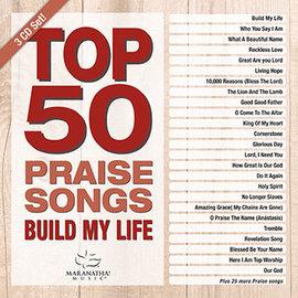 CD - Top 50 Praise Songs: Build My Life