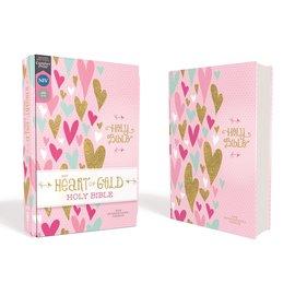 NIV Heart of Gold Bible, Hardcover