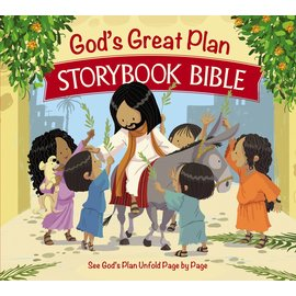 God's Great Plan Storybook Bible, Hardcover