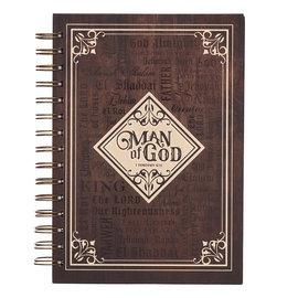 Journal  - Man of God, Wirebound