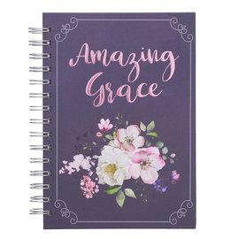 Journal - Amazing Grace, Wirebound (Purple)