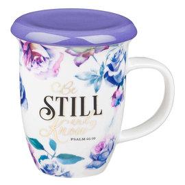 Mug - Be Still and Know, Lidded
