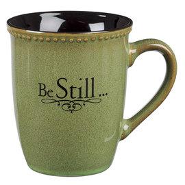 Mug - Be Still, Green