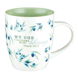 Mug - My Cup Overflows with Blessings