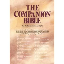 KJV Companion Bible, Burgundy Hardcover