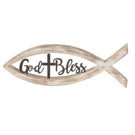 Tabletop Fish - God Bless