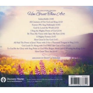 CD - How Great Thou Art: Acappella Hymns
