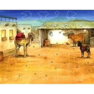 Advent Calendar - Bethlehem's Child, Stickers