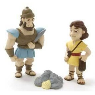 Action Figure - David and Goliath
