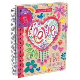 Devotional Journal - Love, Wirebound