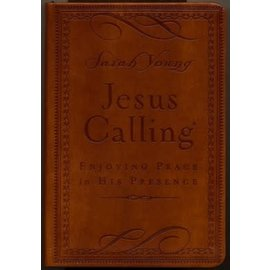 Jesus Calling Deluxe Edition (Sarah Young), Brown Leathersoft
