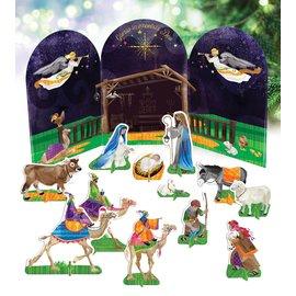 Pop Out Nativity Set