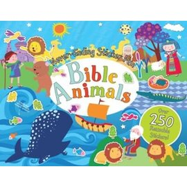 Never-Ending Sticker Fun: Bible Animals, Spiral-bound