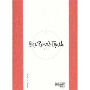 CSB She Reads Truth Bible, Poppy Linen