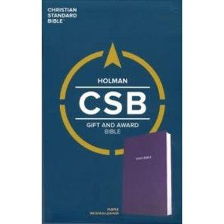 CSB Gift & Award Bible, Blue Imitation Leather