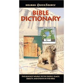 Holman Quicksource Bible Dictionary, Paperback