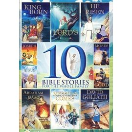 DVD - 10 Bible Stories for the Whole Family