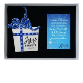 Ornament - Jesus is the Perfect Gift
