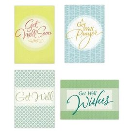 Boxed Cards - Get Well, Large Print