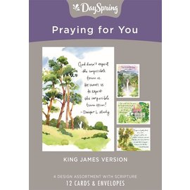 Boxed Cards - Praying for You, Classic Quotes