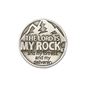 Pocket Token - The Lord is My Rock