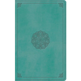 ESV Value Thinline Bible, Turquoise TruTone