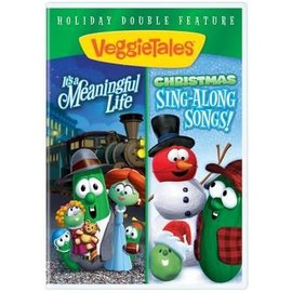 DVD - Veggie Tales, It's a Meaningful Life/Christmas Sing-Along Songs