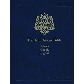 Interlinear Hebrew-Greek-English Bible, Hardcover