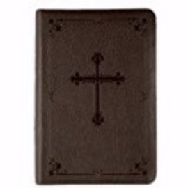 NIV Compact Bible, Brown Leathersoft