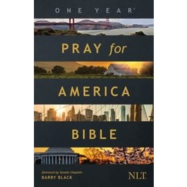 NLT Pray for America One Year Bible, Paperback