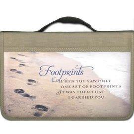 Bible Cover - Footprints