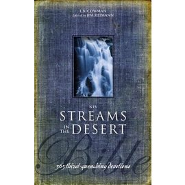NIV Streams in the Desert Bible, Hardcover