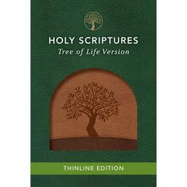 TLV Thinline Bible, Walnut/Brown Duravella