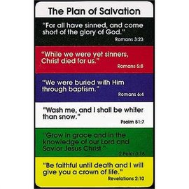 Pocket Card - Plan of Salvation