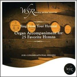 CD - 25 Favorite Hymns, Organ Accompaniment