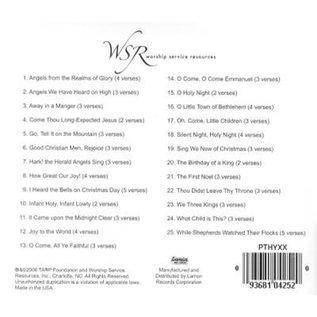 CD - 25 Hymns Of Christmas, Piano Accompaniment