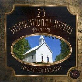 CD - 25 Inspirational Hymns Volume 1, Piano Accompaniment