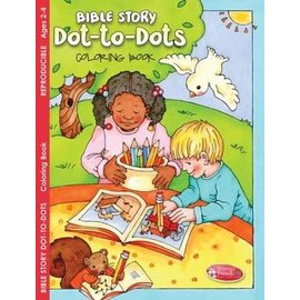 Bible Story Dot-to-Dots Coloring Book