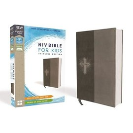 NIV Bible for Kids, Gray Leathersoft