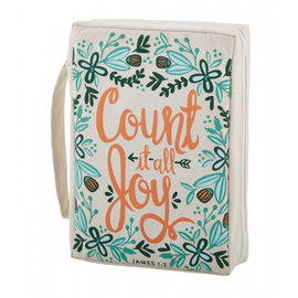 Bible Cover - Count it all Joy